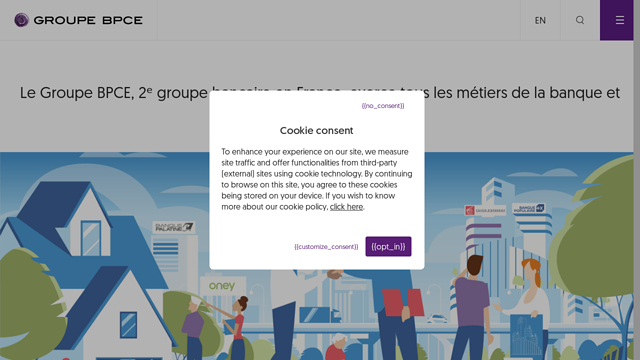 Groupe-BPCE API koppeling