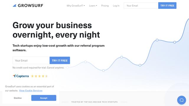 GrowSurf API koppeling