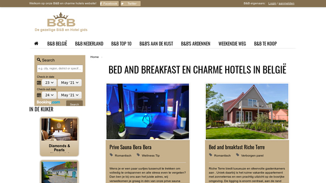 guesthouses.be API koppeling