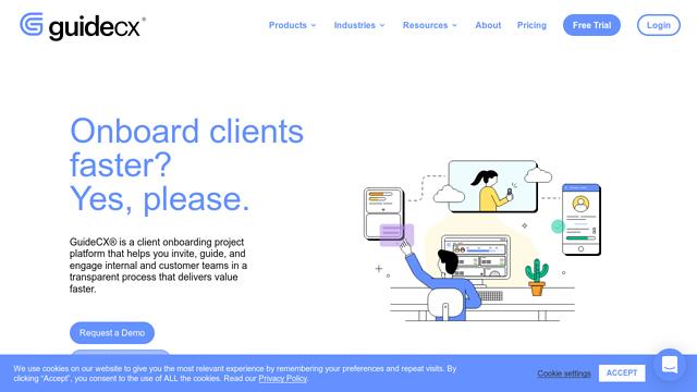 GuideCX API koppeling