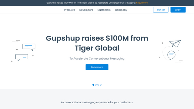 Gupshup API koppeling