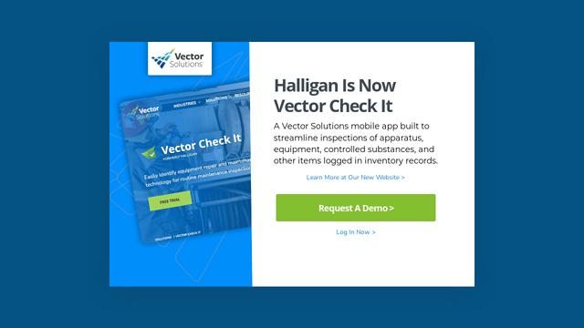 Halligan API koppeling
