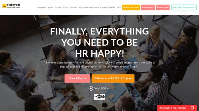 Happy-HR API koppeling