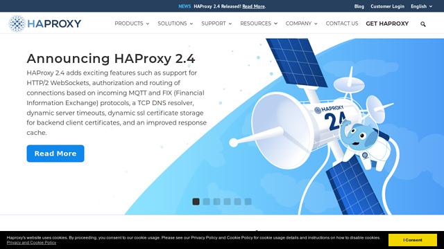 HAProxy API koppeling