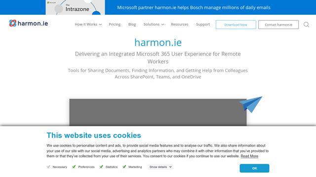 Harmon.ie API koppeling