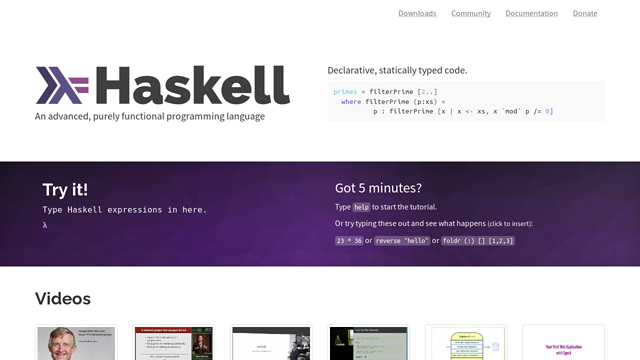 Haskell API koppeling