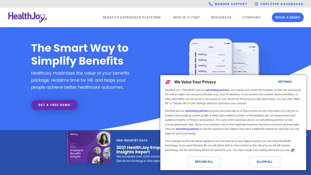 HealthJoy API koppeling