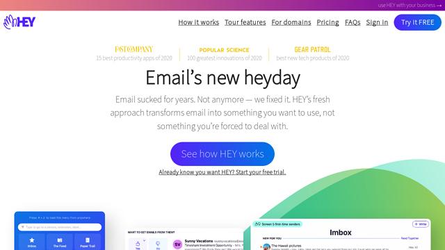Hey.com API koppeling