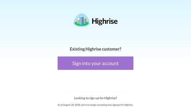Highrise API koppeling