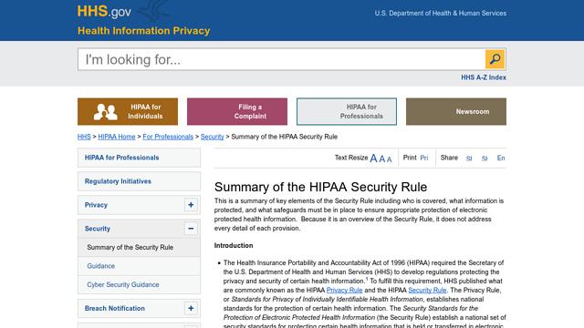 HIPAA API koppeling