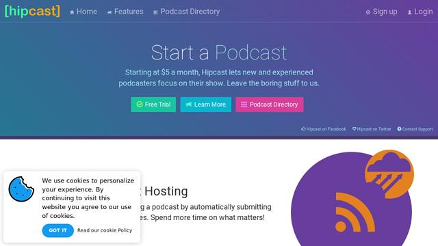 Hipcast API koppeling