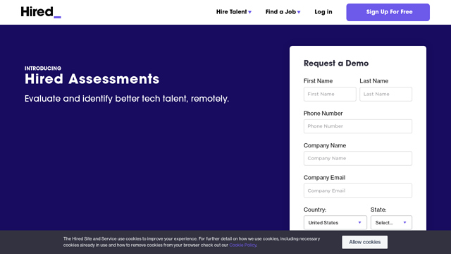 Hired-Assessments API koppeling