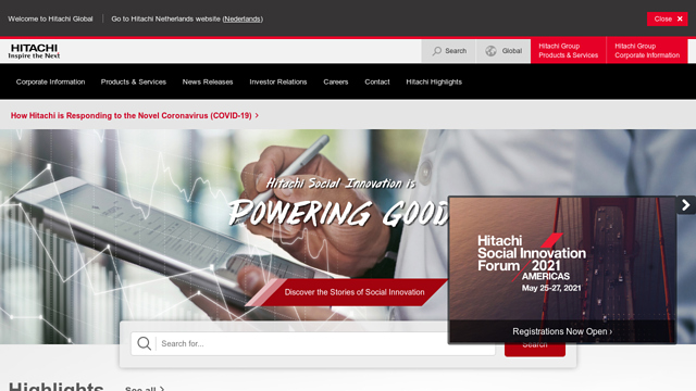 Hitachi API koppeling