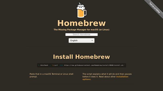Homebrew API koppeling