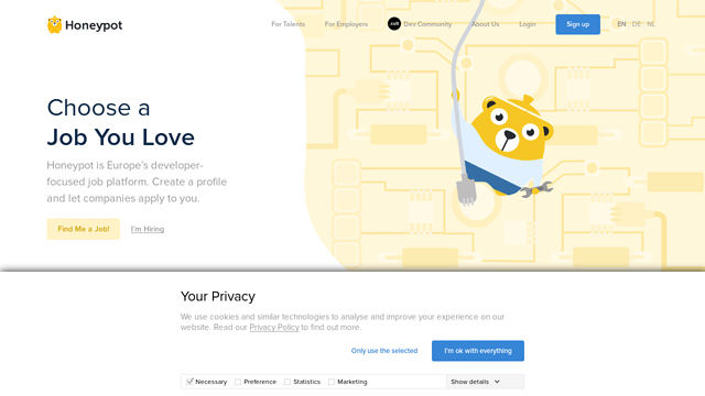 Honeypot API koppeling