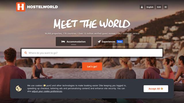 Hostelworld API koppeling