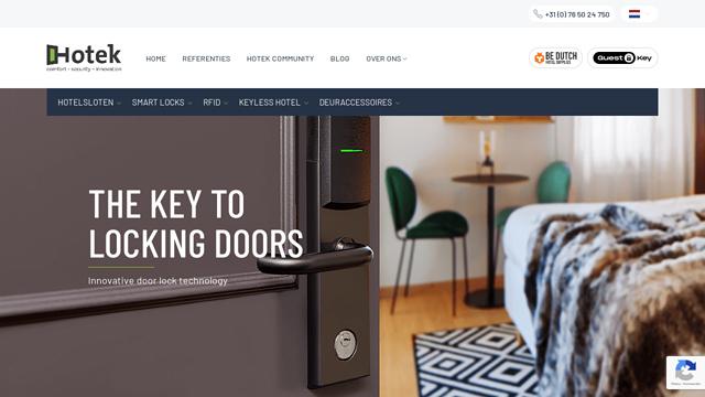 Hotek-Hospitality API koppeling