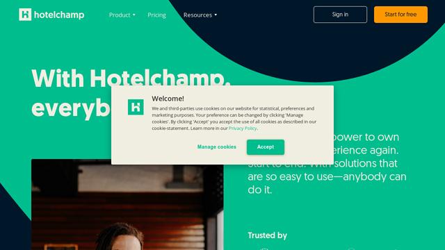 Hotelchamp API koppeling