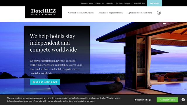 HotelREZ API koppeling