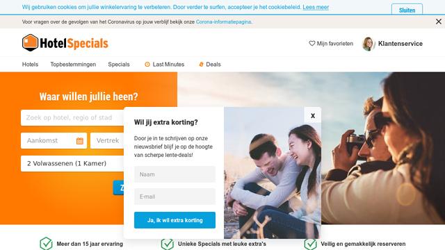 HotelSpecials.nl API koppeling
