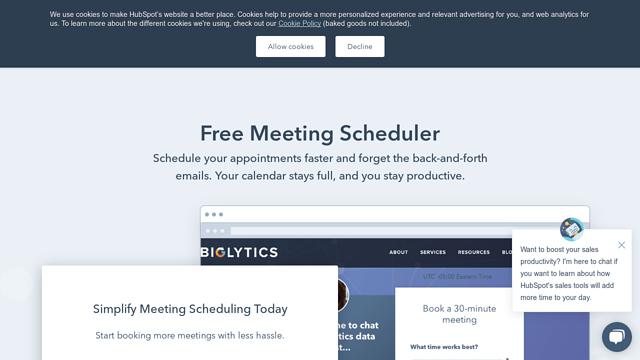HubSpot-Scheduling-Software API koppeling