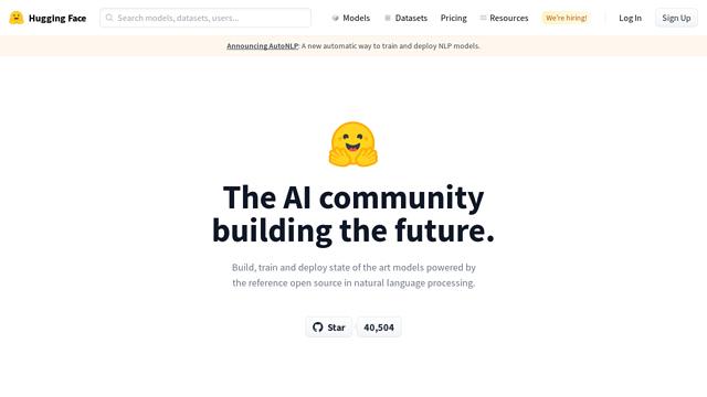 Hugging-Face API koppeling