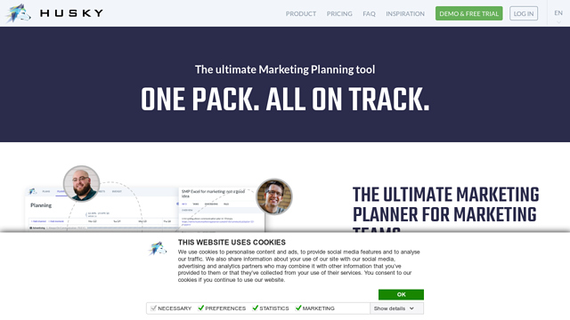 Husky-Marketing-Planner API koppeling