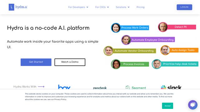 Hydra API koppeling