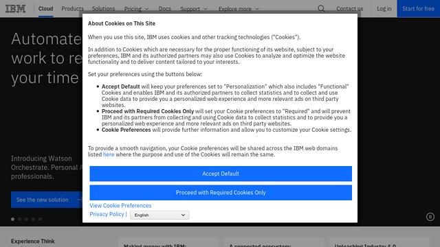 IBM-Cloud API koppeling
