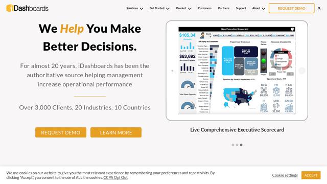 iDashboards API koppeling