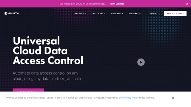 Immuta API koppeling
