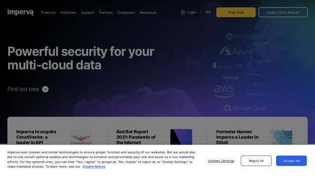 Imperva API koppeling