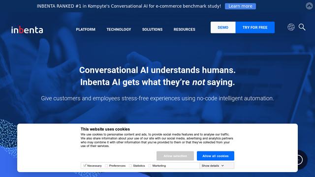 Inbenta-Chatbots API koppeling