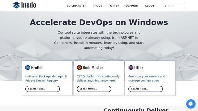 Inedo API koppeling
