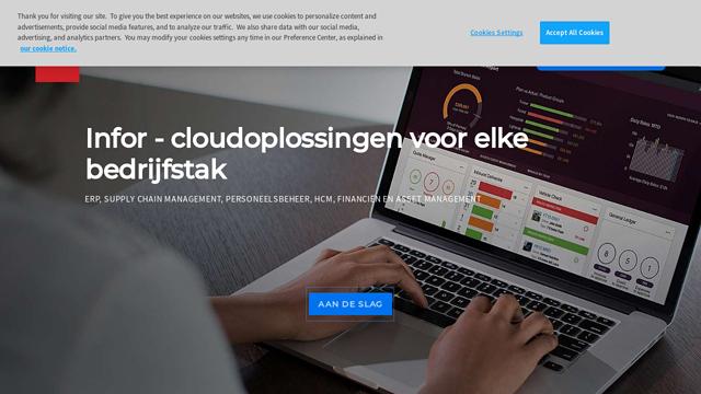 Infor API koppeling