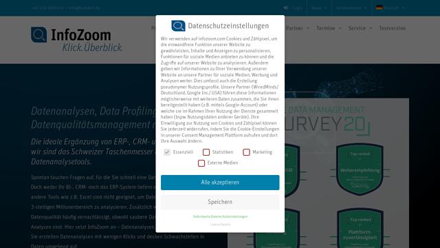 InfoZoom API koppeling