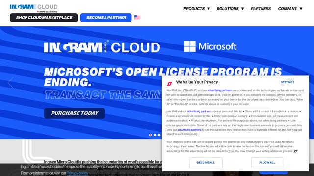 Ingram-Micro-Cloud API koppeling