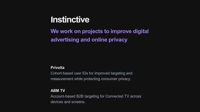Instinctive API koppeling