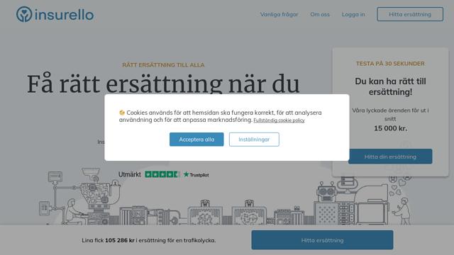 Insurello API koppeling