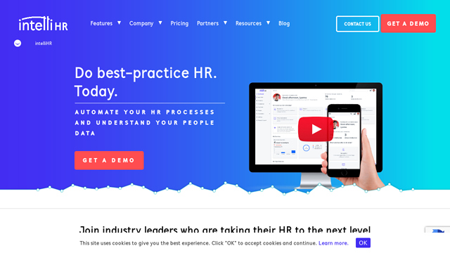 intelliHR API koppeling