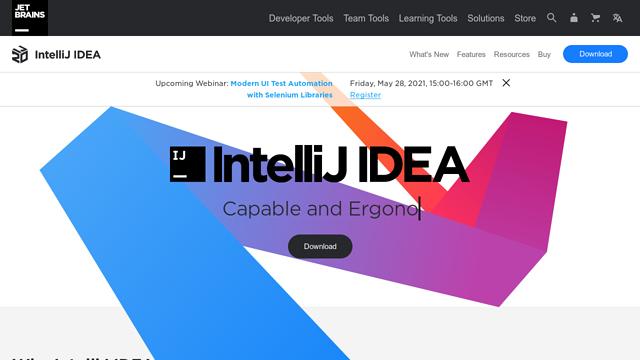 IntelliJ-IDEA API koppeling