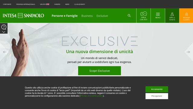 Intesa-Sanpaolo API koppeling