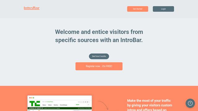IntroBar API koppeling