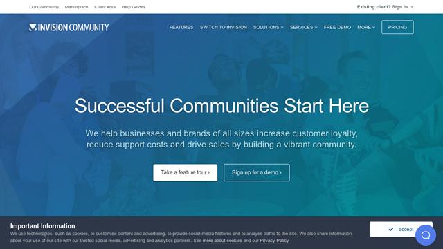 Invision-Community API koppeling