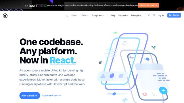 ionic API koppeling