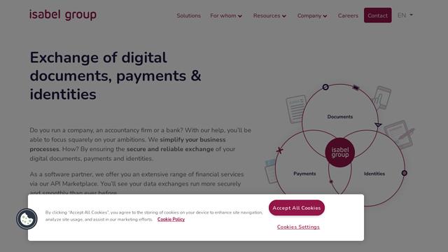 Isabel-Group API koppeling