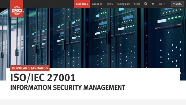 ISO/IEC-27001 API koppeling