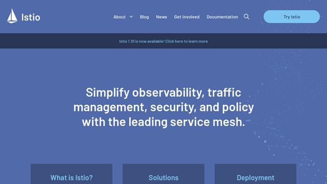 Istio API koppeling