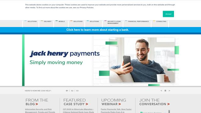 Jack-Henry-Banking API koppeling