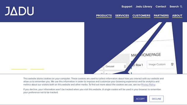 Jadu API koppeling